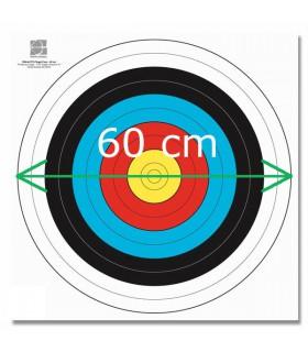 Blason FITA Papier Armé 60cm