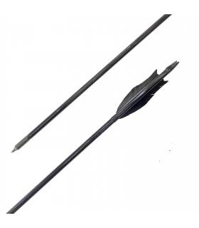 Flèche Bois Médiéval ninja (lot de 12)